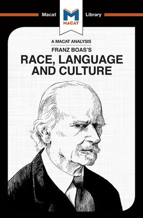 An Analysis of Franz Boas's Race, Language and Culture