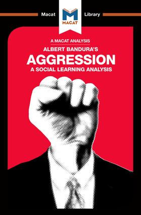 Aggression: A Social Learning Analysis, 1st Edition (Paperback) book cover