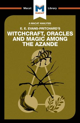 An Analysis of E.E. Evans-Pritchard's Witchcraft, Oracles and Magic Among the Azande: 1st Edition (Paperback) book cover