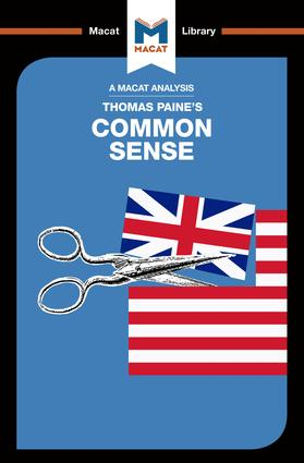 An Analysis of Thomas Paine's Common Sense: 1st Edition (Paperback) book cover