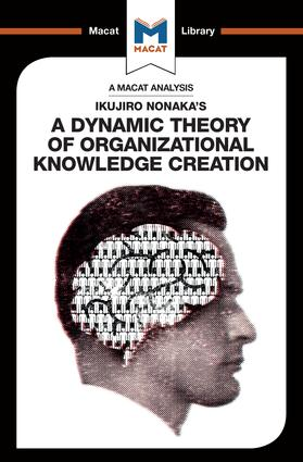 Ikujiro Nonaka's A Dynamic Theory of Organisational Knowledge Creation: 1st Edition (Paperback) book cover