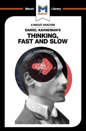 Daniel Kahneman's Thinking, Fast and Slow book cover