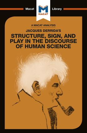 Jacques Derrida's Structure, Sign, and Play in the Discourse of Human Science book cover