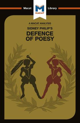 Philip Sidney's Defence of Poesy book cover