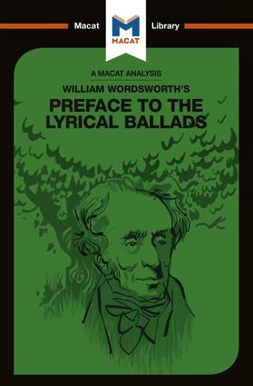 William Wordsworth's Preface to The Lyrical Ballads book cover