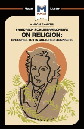 Friedrich Schleiermacher's On Religion: Speeches to its Cultured Despisers book cover
