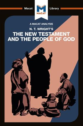 N.T. Wright's The New Testament and the People of God book cover