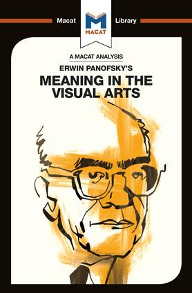 Erwin Panofsky's Meaning in the Visual Arts (Paperback) book cover