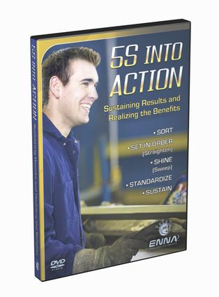 5S Video - 5S into Action: 1st Edition (DVD) book cover