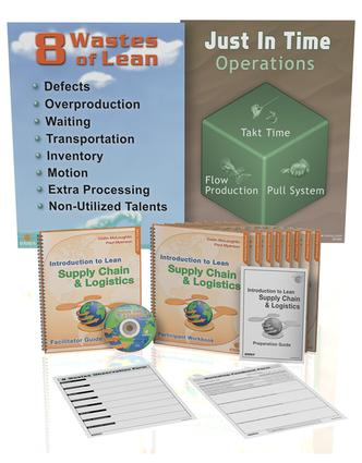 Introduction to Lean Supply Chain and Logistics: Training Package, 1st Edition (Pack) book cover