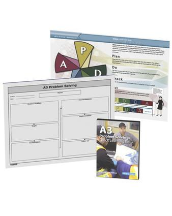A3 Problem Solving Quick Learning Kit: 1st Edition (Pack) book cover