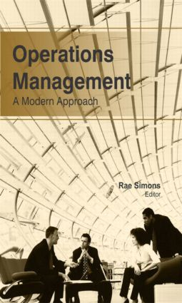 Operations Management: A Modern Approach (Hardback) book cover
