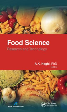 Food Science: Research and Technology, 1st Edition (Hardback) book cover