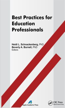Best Practices for Education Professionals: 1st Edition (Hardback) book cover