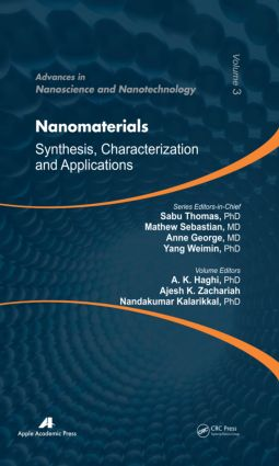 Nanomaterials: Synthesis, Characterization, and Applications, 1st Edition (Hardback) book cover