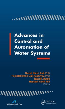 Advances in Control and Automation of Water Systems: 1st Edition (Hardback) book cover