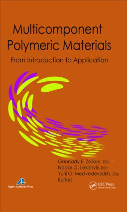 Multicomponent Polymeric Materials: From Introduction to Application, 1st Edition (Hardback) book cover