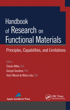 Handbook of Research on Functional Materials: Principles, Capabilities and Limitations, 1st Edition (Hardback) book cover