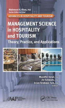 Management Science in Hospitality and Tourism: Theory, Practice, and Applications, 1st Edition (Hardback) book cover