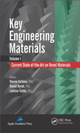 Key Engineering Materials, Volume 1: Current State-of-the-Art on Novel Materials, 1st Edition (Hardback) book cover