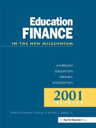 Education Finance in the New Millenium: 1st Edition (Hardback) book cover