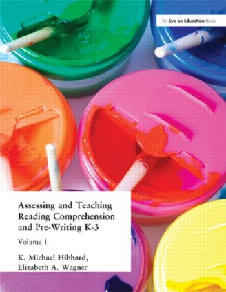 Assessing and Teaching Reading Composition and Pre-Writing, K-3, Vol. 1: 1st Edition (e-Book) book cover