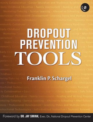 Dropout Prevention Tools with CD-ROM: 1st Edition (Pack - Book, CD, Cassette) book cover