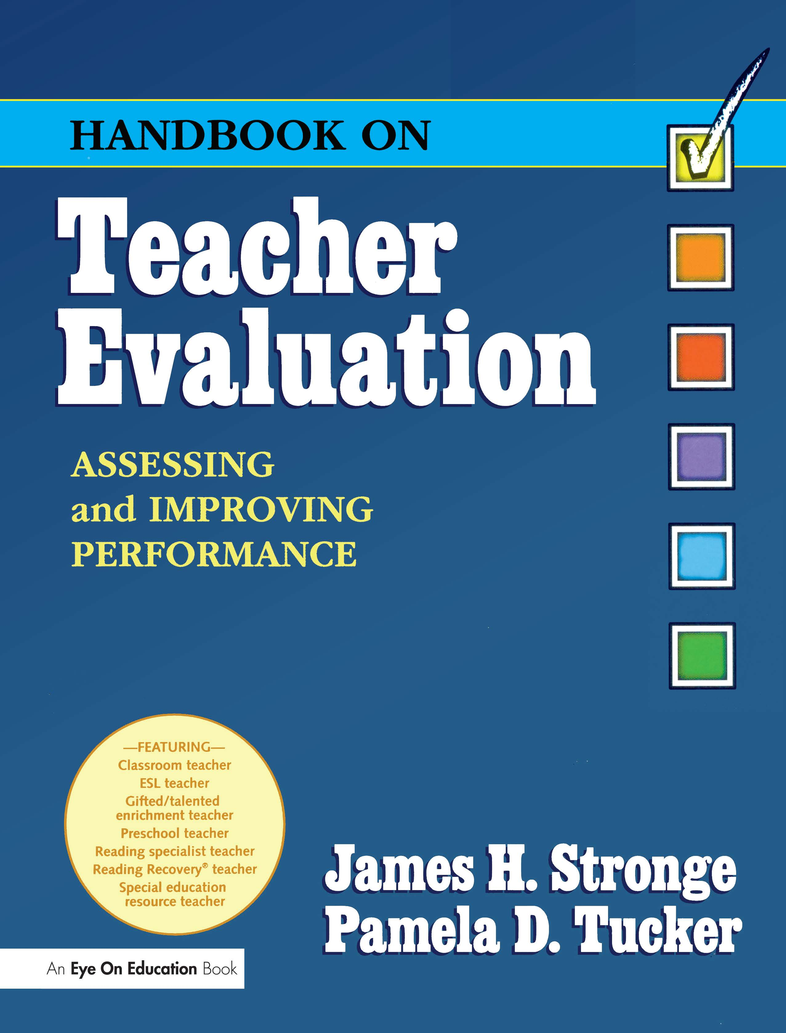 Handbook on Teacher Evaluation with CD-ROM: 1st Edition (Paperback) book cover