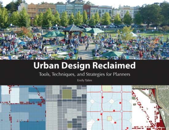 Urban Design Reclaimed (Paperback) book cover