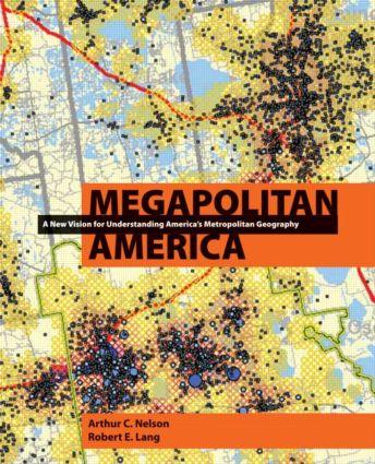 Megapolitan America (Hardback) book cover