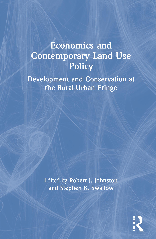 Land, Economic Change, And Economic Doctrine