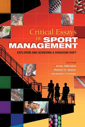 Critical Essays in Sport Management