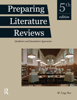 Preparing Literature Reviews: Qualitative and Quantitative Approaches book cover