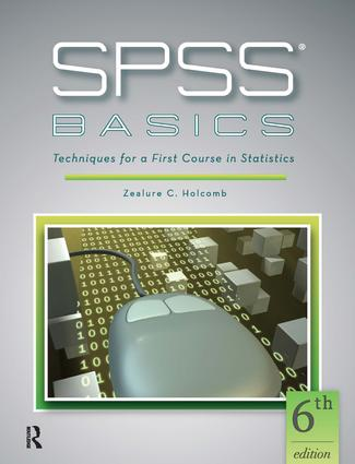 SPSS Basics: Techniques for a First Course in Statistics book cover