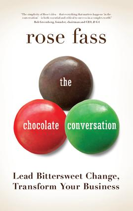 Chocolate Conversation: Lead Bittersweet Change, Transform Your Business book cover