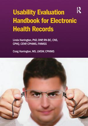 Usability Evaluation Handbook for Electronic Health Records: 1st Edition (Paperback) book cover
