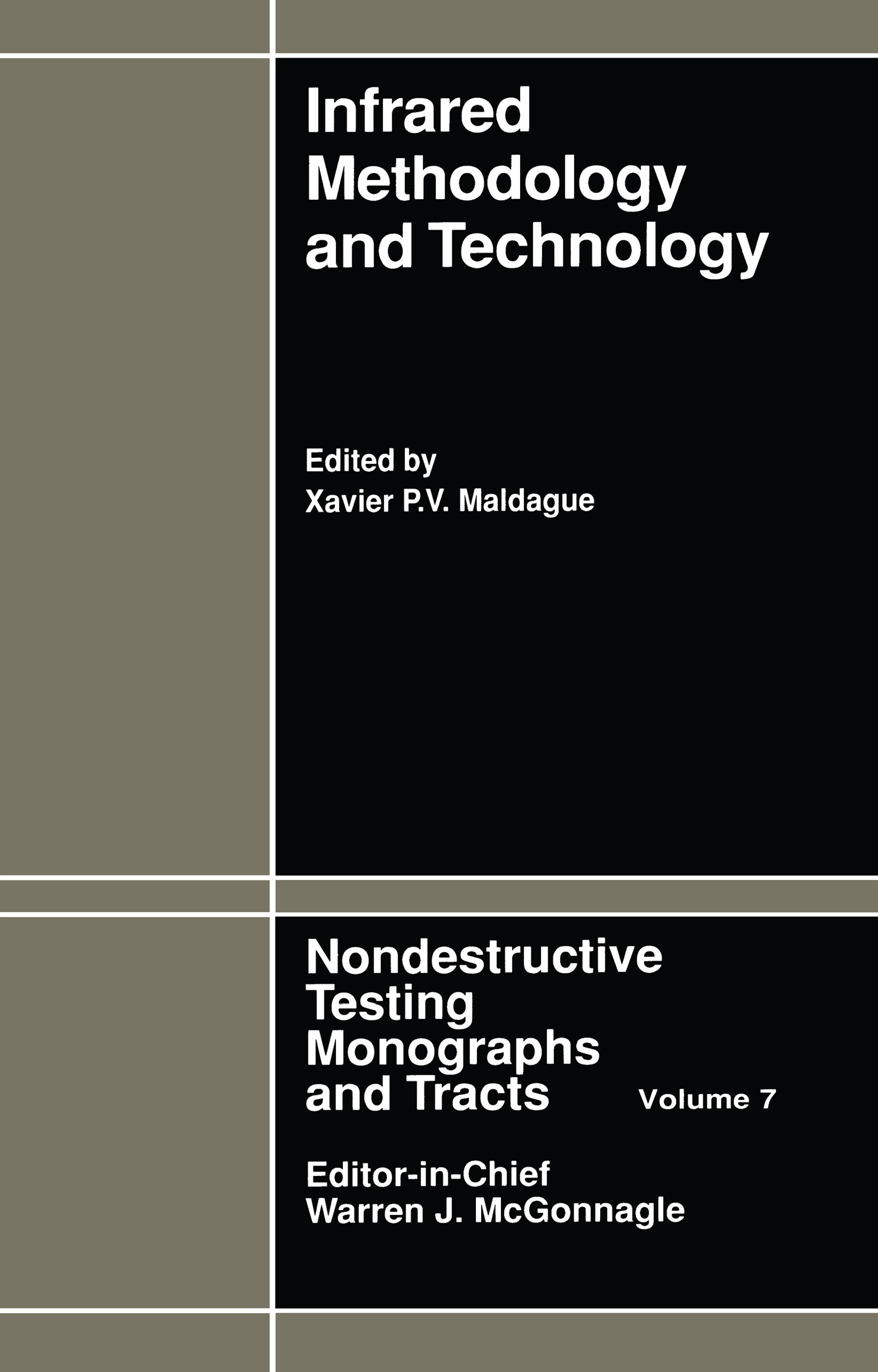 Infrared Methodology and Technology: 1st Edition (Paperback) book cover