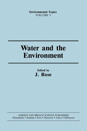 Water & the Environment: 1st Edition (Hardback) book cover