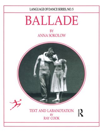 Ballade by Anna Sokolow (Paperback) book cover