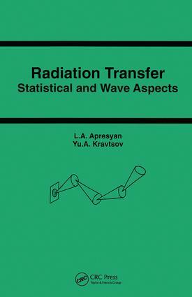 Radiation Transfer: 1st Edition (Hardback) book cover