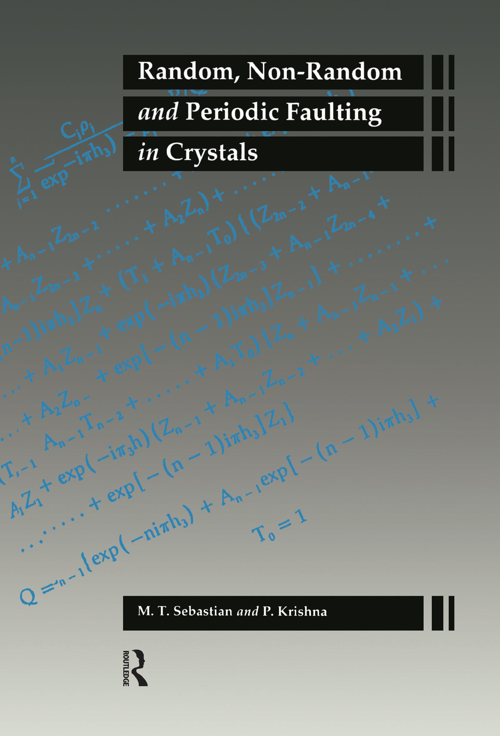 Random Non-Random Periodic Fau: 1st Edition (Hardback) book cover