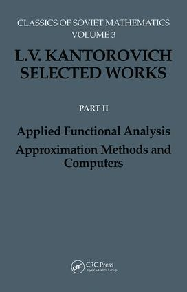 Applied Functional Analysis. Approximation Methods and Computers: Applied Functional Analysis, Approximation Methods and Computers, 1st Edition (Hardback) book cover