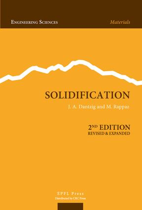 Solidification, Second Edition: 2nd Edition (Hardback) book cover