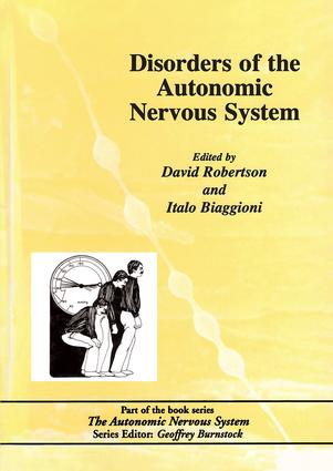 Disorders of the Autonomic Nervous System: 1st Edition (Hardback) book cover