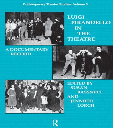 Luigi Pirandello in the Theatre