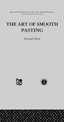 Art of Smooth Pasting: 1st Edition (Paperback) book cover