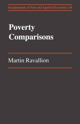 Poverty Comparisons: 1st Edition (Paperback) book cover