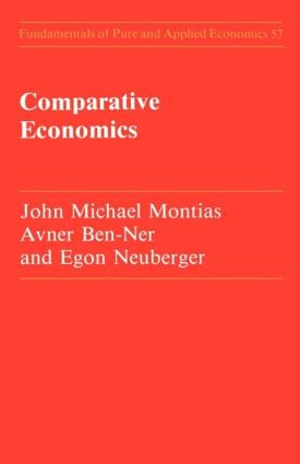 Comparative Economics: 1st Edition (Paperback) book cover