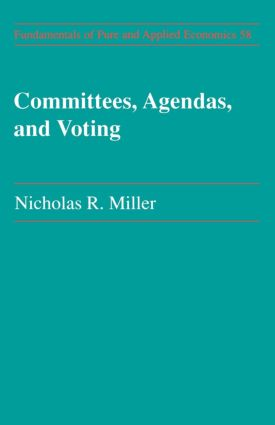 Committees Agendas & Voting: 1st Edition (Paperback) book cover