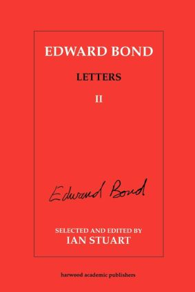 Edward Bond: Letters 2: 1st Edition (Paperback) book cover
